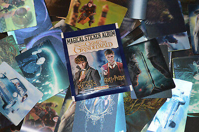 Panini FANTASTIC BEASTS CRIMES OF GRINDELWALD {select} LENTICULAR Sticker Cards