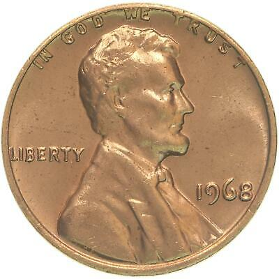 1968 Lincoln Memorial Cent BU Penny US Coin