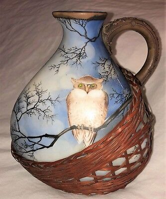 Vintage NIPPON PITCHER with OWL MINT green mark