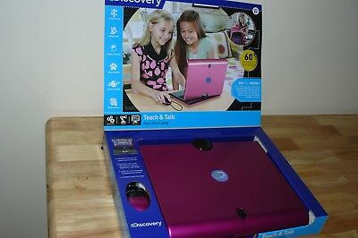 Discovery Laptop Computer Learning Toy Educational Games Teach/Talk For A Girl