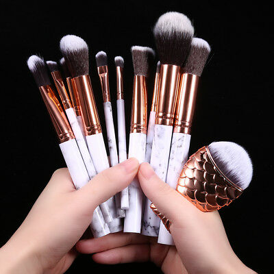 Pro Makeup Brushes Kabuki Cosmetic Contour Face Blush Powder Foundation Brush