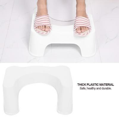 New Aid Squatty Toilet Step Foot Stool Potty Help Prevent Constipation Bathroom
