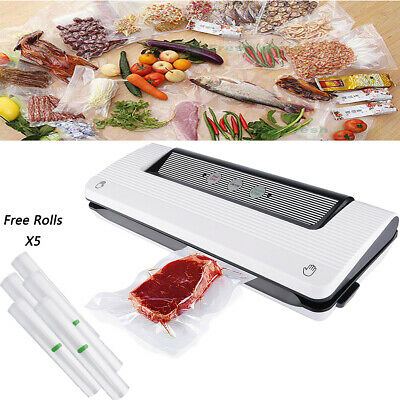 Food Saver Vacuum Sealer Machine Kitchen Storage Packaging 5 Bag Roll Foodsaver