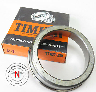 """Timken 612B Tapered Roller Bearing Cup, Flanged, Od: 4.750"""", Width: 1.250"""""""