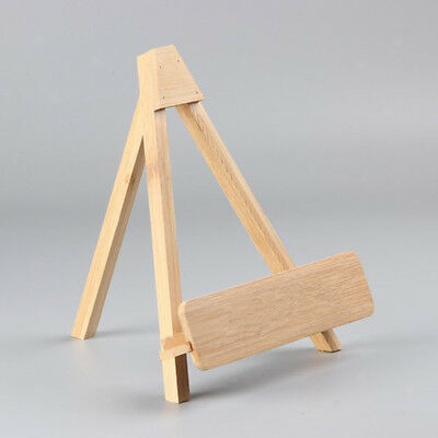Mini Wooden Easel Display Stand Photo Painting Display Portable Holder Stand