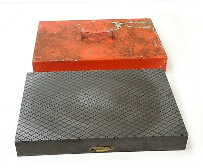 "Challenge M.12 x 18 x 2"" Inspection Precision Lapping Surface Plate Slotted 1/2"""