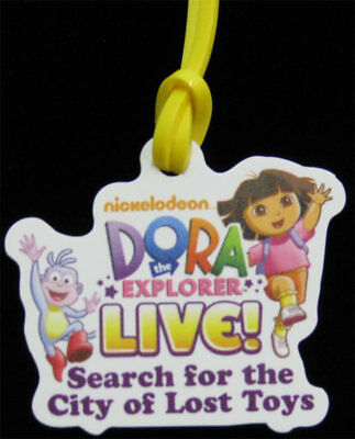Dora the Explorer Live City of lost Toys Charm/Bracelet 2013 Nickelodeon Nick Jr
