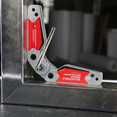 High Quality Strong Welding 60° -200° Magnet Corner Magnetic Holder +Hex Wrench