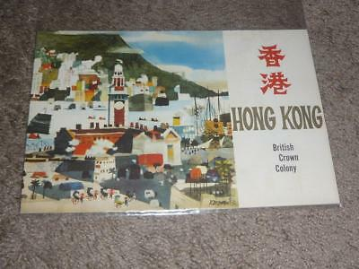 Hong Kong British Crown Colony Travel Guide / Vintage Full Color 20 Pgs Booklet