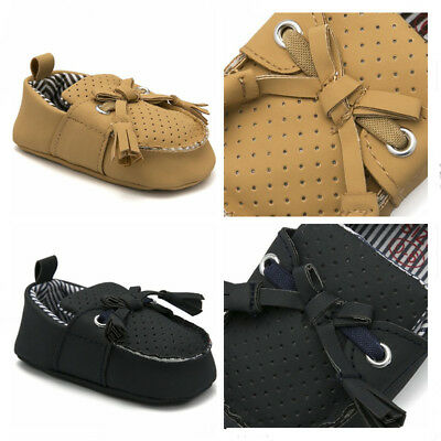 Comfortable Trainers Newborn Baby Boy Crib Shoes Infant Slip on First Step Shoes