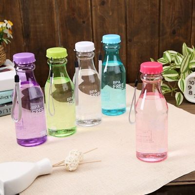 1X 500mL BPA Leak-proof Water Bottle Outdoor Sport Travel Portable Drinking Tool