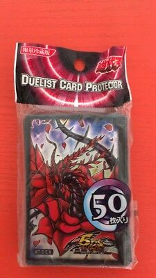 50pcs YU-GI-OH Card Deck Protectors Card sleeves - Black Rose Dragon