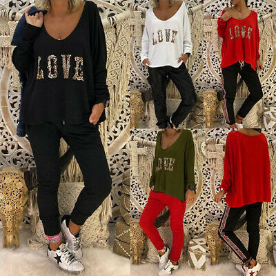 Women Leopard Print Letter Easy Irregular Forking Long Sleeves Tops Blouse Plus