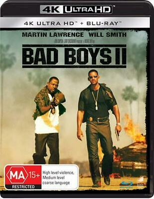 Bad Boys II | Blu-ray + UHD + UV - Blu Ray Region A,B,C Free Shipping!