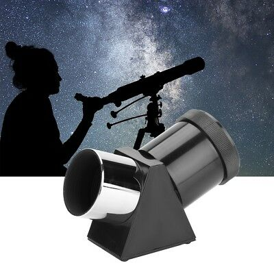 1.25'' 45-Degree Zenith Mirror Prism Diagonal Adapter for Astronomical Telescope