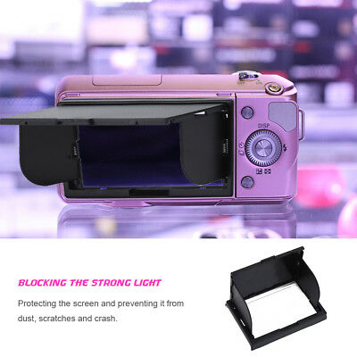 DSLR Camera Pop-Up LCD Screen Sun Shade Hood Protector for Sony NEX-3/C3 NEX-5