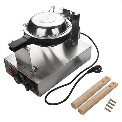 220V Waffle Makers Electric Egg Cake Oven Puff Bread Stainless Steel Non-stick