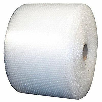 """1/2"""" SH Recycled Large Bubble Cushioning Wrap Padding Roll 250' x 12"""" Wide 250FT"""