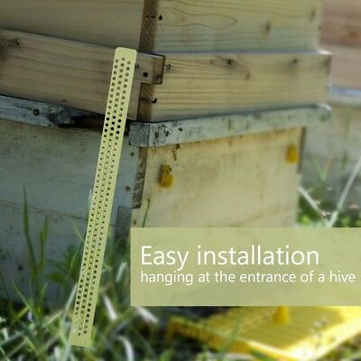 10PC BEE POLLEN TRAP COLLECTOR FOR BEEHIVE BEE HIVE PICKUP AVAILABLE TOOL 40*2cm