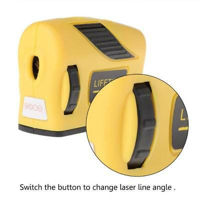 360° Laser Self-Levelling Level 2 Line 1 Point Horizontal & Vertical Measure Red