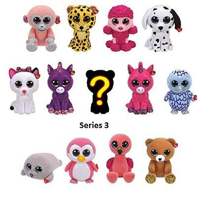 TY Mini Boo SERIES 3 RANDOM BLIND BOX Collectible Hand Painted Vinyl Figure  (2
