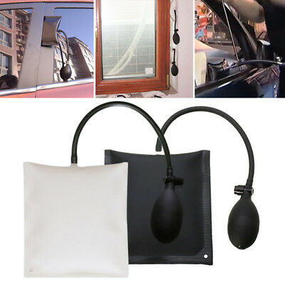 Car Door Window Open Air Bag Pump Wedge Pad Entry Inflatable Shim Tool New