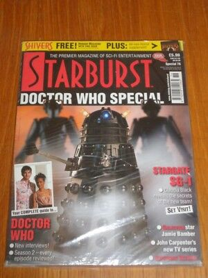 Starburst Special #76 British Sci-Fi Monthly Magazine 2006 Doctor Who Dalek