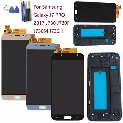 LCD Touch Screen Digitizer & Frame For Samsung Galaxy J7 PRO 2017 J730 J730M/H/F