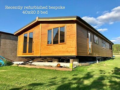 Timber clad lodges & park homes in stock with bespoke refurbishment available
