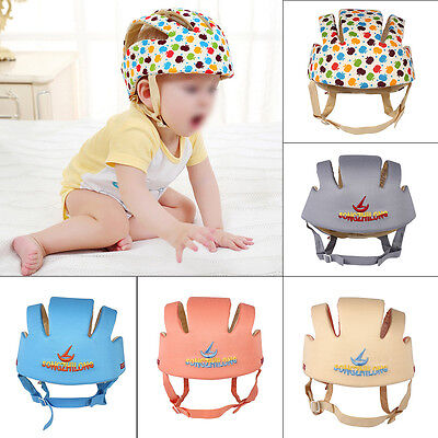Infant Baby Toddler Safety Helmet Kids Head Protection Hat for Walking Crawling