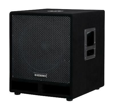 "DJ PA Subwoofer Disco Bass Party Box 38cm (15"") Woofer Bass-Reflex System 1200W"