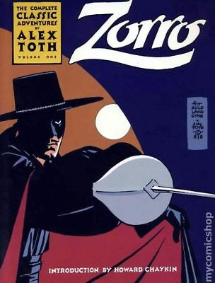 Zorro The Complete Classic Adventures of Alex Toth TPB (Eclipse) #1-1ST 1988 VF