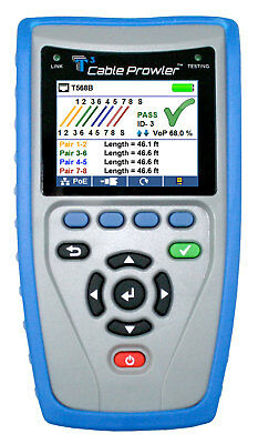 Cable Prowler CB300 Digital LAN Cable Tester and PoE tester