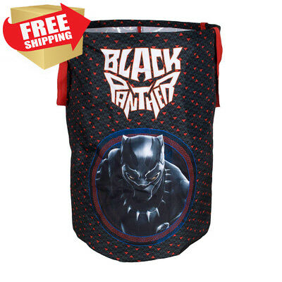 Black Panther Collapsible Kids Laundry Hamper by Marvel - Pop Up Portable...