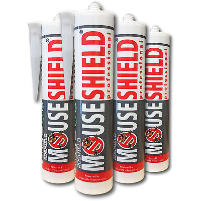 Mouseshield Professional Proofing Mastic Paste - Prevent Rat & Mouse Ingress