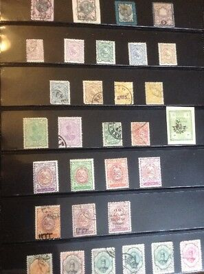 Stamps from the Middle East, Turkey, etc - Mainly Used Stamps - 20 Pages