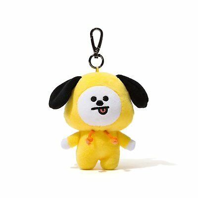Kpop BTS BT21 CHIMMY Plush Keychain Doll Pendant Key Ring [USA]