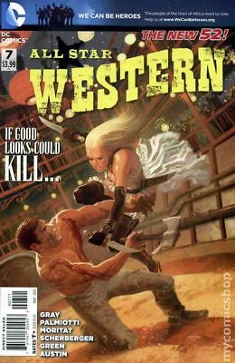 All Star Western #7 2012 VF Stock Image