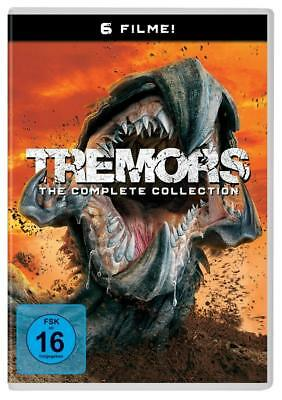 6 DVDs * TREMORS 1+2+3+4+5+6  THE COMPLETE COLLECTION # NEU OVP +