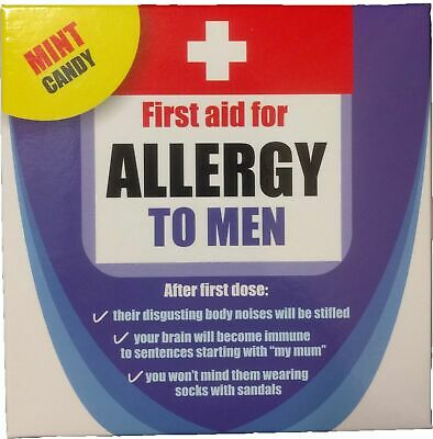 Allergy to Men Mint Candy