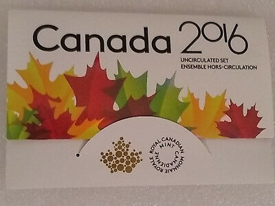 Royal Canadian Mint 2016 6-Coin Set with Error (2015 Loonie instead of 2016)