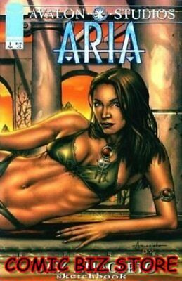 Aria Jay Anacleto Sketchbook  (1999)  1St Printing Bagged & Boarded Image Comics
