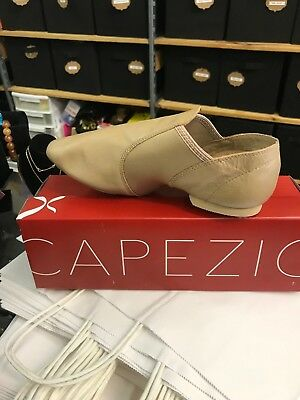 Capezio Slip On Jazz Oxford ESeries Carmel 12  WIDE Split Sole Adult Dance Shoes