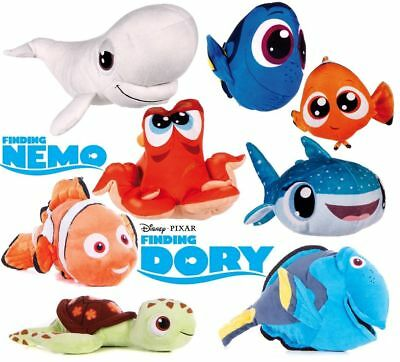 """New Official 12"""" Finding Nemo Finding Dory Plush Soft Toys Hank Bailey Destiny"""