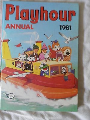 PLAYHOUR annual (1981)