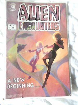 ALIEN ENCOUNTERS No 1 (1985)