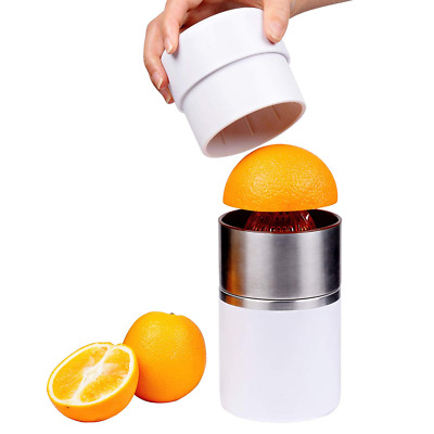 Citrus Juicer, Manual Squeezer for Orange, Lemon, Tangerine, Grapefruit, White