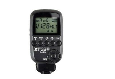 Godox XT32C Wireless Flash Trigger Transmitter for Canon with 1 x XTR16 receiver