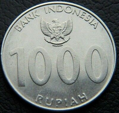 2010 Indonesia 1000 Rupiah Indonesian Coin (Wc2133)
