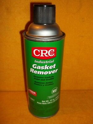 CRC Industrial Gasket Paint Graffiti Remover 12oz Net Wt. 16oz Aerosol No.03017